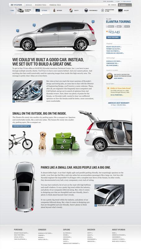 hyundai.com: Car Details Page